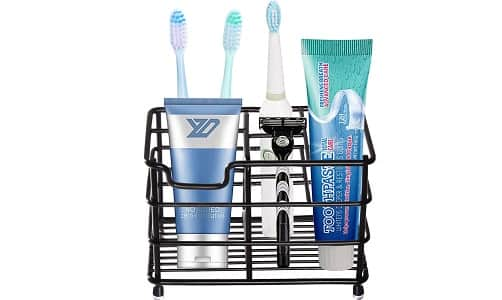 HYRIXDIRECT Multifunctional Toothbrush Holder
