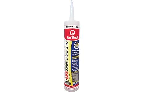 Red Devil 0777 Lifetime Ultra Premium Elastomeric Acrylic Latex Sealant