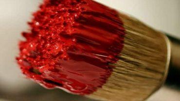Brossum Large Round Chalk and Wax Brush