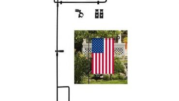 Garden Flag Stand by HOOSUN