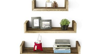SRIWATANA Floating Shelves Wall Mounted