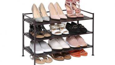 Seville Classics 3-Tier Shoe Rack